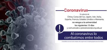 Medidas frente al Coronavirus